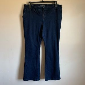 Torrid size 18 Slim Trouser bootcut Jeans Blue